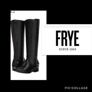 New Frye® Knee High Melissa Button Back Zip boots